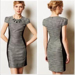 ANTHROPOLOGIE Moulinette Soeurs Tweed Dress Size 8